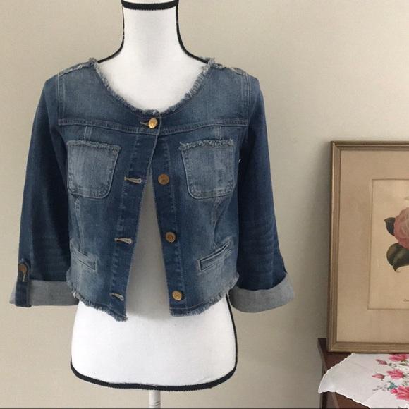 17cd2352a princess vera wang Jackets & Coats | Nwt Spring Spirit Jean Jacket ...